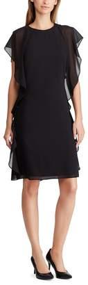 Lauren Ralph Lauren Mid-Length Dress with Ruffles