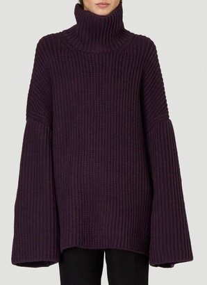 Nanushka Oversized Turtleneck Sweater