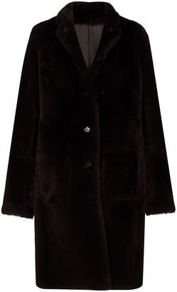 Joseph Britanny shearling coat