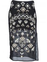 Altuzarra 'Zeramika' beaded skirt