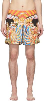 Amiri Multicolor Hendrix Swim Shorts