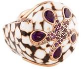 John Hardy Cinta Marble Cone Ring