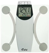 Weight Watchers ; Body Analysis Scale - White/Chrome