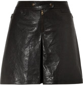 Tomas Maier Leather shorts