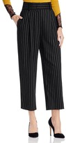 Alice + Olivia Rosalinda Pinstriped Ankle Trousers