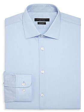 John Varvatos Micro Stripe Regular Fit Dress Shirt