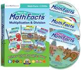 Preschool Prep Company Meet the Math Facts Multiplication & Division 3 DVD Boxed Set