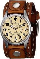 Nemesis Men's 095BDST-N Unique Series Analog Display Japanese Quartz Brown Watch