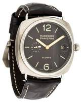 Panerai Radiomir Watch w/ Alligator Strap