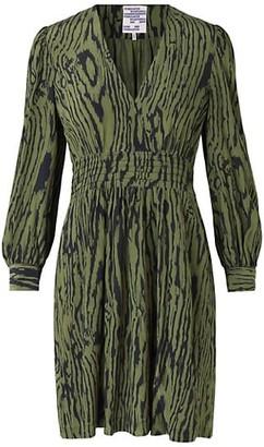 Baum und Pferdgarten Astrella Wood Grain Print Dress