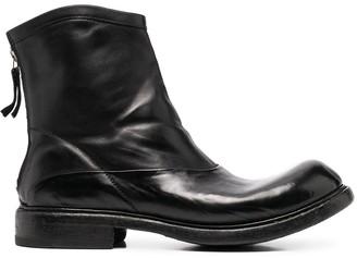 Premiata Chunky Zip-Up Boots