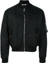 Givenchy illuminati patch bomber jacket - men - Cotton/Acrylic/Polyamide/Wool - 46