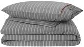 Tommy Hilfiger Grey Stripe Duvet Cover - Double