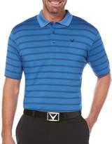 Callaway Big And Tall Stripe Golf Polo