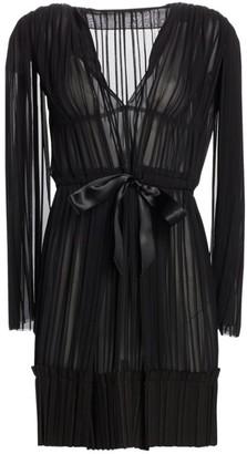 TRE by Natalie Ratabesi The Lido Pleated Chiffon Mini Dress