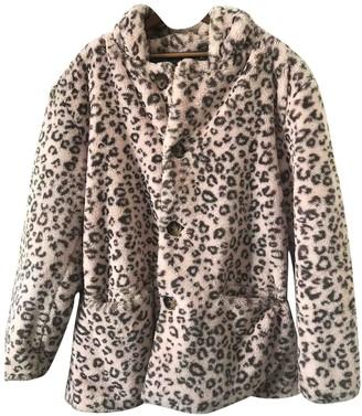 Gosha Rubchinskiy Pink Faux fur Coats