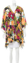M Missoni Printed V-Neck Tunic
