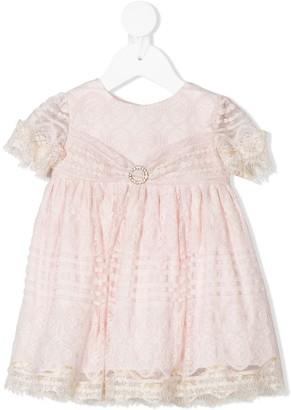 Patachou Lace Cotton Dress
