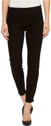 Liverpool Jeans Company Women's Sienna Pull-on Ankle in The Perfect Black Denim Jean