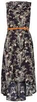Izabel London *Izabel London Navy Printed Dress