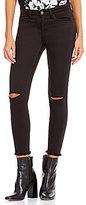 Gianni Bini Cameron 5-Pocket Skinny Distressed Denim Ankle Jean