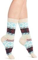 Happy Socks Women's Snowflake Crew Socks