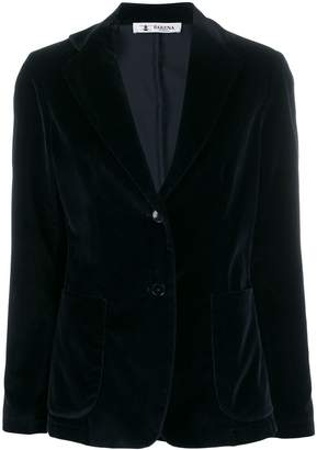 Barena Gid velour button blazer