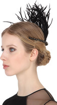 Rosantica Corvo Headpiece With Feathers