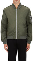 Nlst Men's Nylon Ma-1 Bomber Jacket