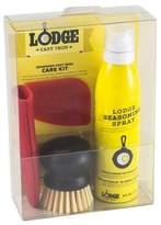 Lodge Seasoned Cast Iron Care Kit Yellow