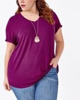 Penningtons Relaxed Fit V-Neck T-Shirt