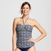 Merona Women's Shirred Center Halter Tankini Top