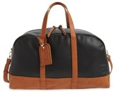 Sole Society Marant Faux Leather Duffle Bag - Black