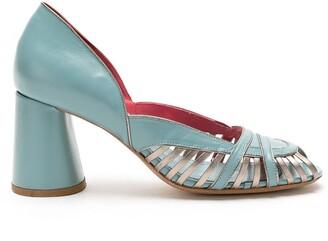 Sarah Chofakian leather Ellis pumps