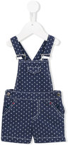 Patachou - anchor print dungarees - kids - Cotton/Polyester - 6 mth
