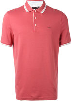 Michael Kors contrast-hem polo top - men - Cotton - S