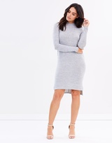 Marsha High-Neck Dress