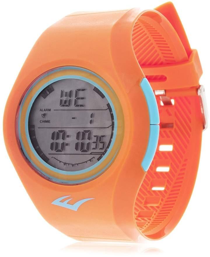 Everlast Women's EVWF015NO Orange Rubber Watch