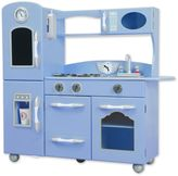 Teamson Kids My Little Chef Retro Play Kitchen in Blue