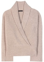 The Row Fontaine Cashmere And Silk-blend Sweater