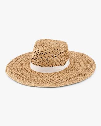 Rag & Bone Open-Weave Sun Hat
