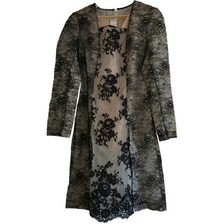 Huishan Zhang Black Lace Dress for Women