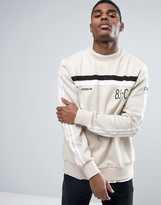 adidas 83-C Crew Neck Sweater In Beige BK7513