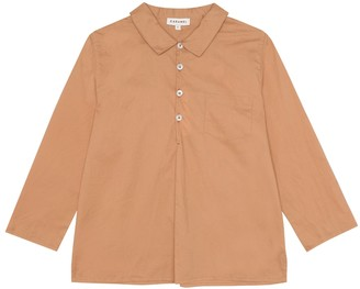 Caramel Westminster cotton shirt