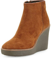 Aquatalia by Marvin K Vena Shearling Fur-Lined Wedge Bootie