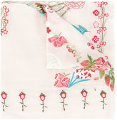 Temperley London Foxglove shawl