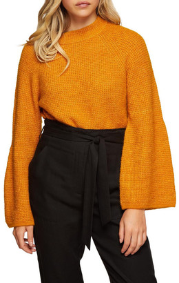Oxford Ruby Soft Bell Sleeve Knit