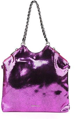 Marc Ellis Odelia Laminated Effect Leather Bag