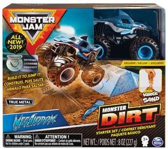 Monster Jam Monster Dirt Kinetic Sand Starter Set