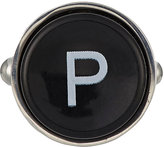 Barneys New York Men's Initial Typewriter Key Cufflink